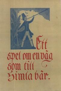 RL Himlaspet prog.blad 1951