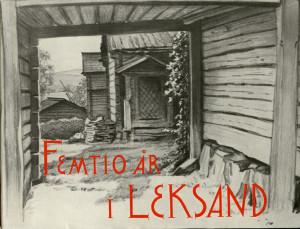 RL50år i Leksands redaktör